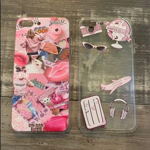 two iphone 8 plus phone cases